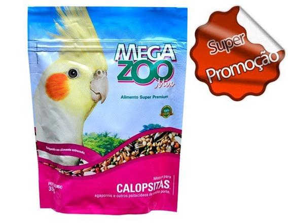 Ração Megazoo Para Calopsitas Mix 350 G