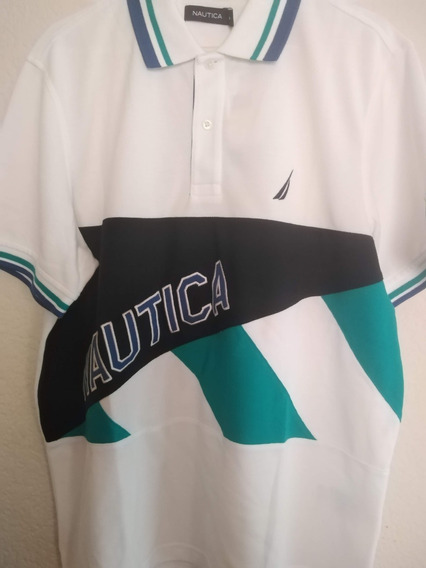 Playera Nautica Tipo Polo
