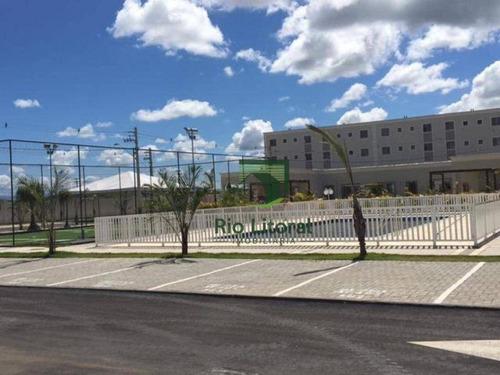 Apartamento Com 2 Dormitórios Para Alugar, 55 M² Por R$ 850,00/mês - Jardim Mariléa - Rio Das Ostras/rj - Ap0326