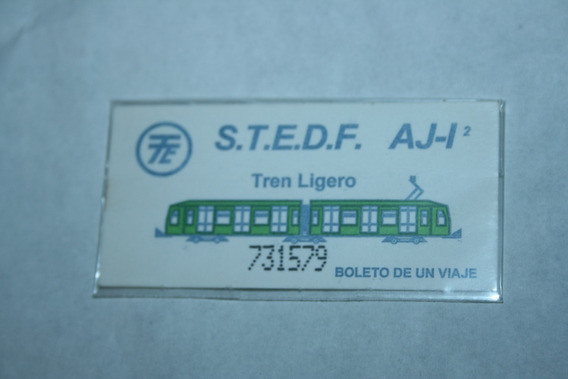 Boletos Del Metro: Boleto Tren Ligero En Buen Estado
