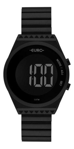 Relógio Feminino Euro Eubjt016ad/4p Digital Preto