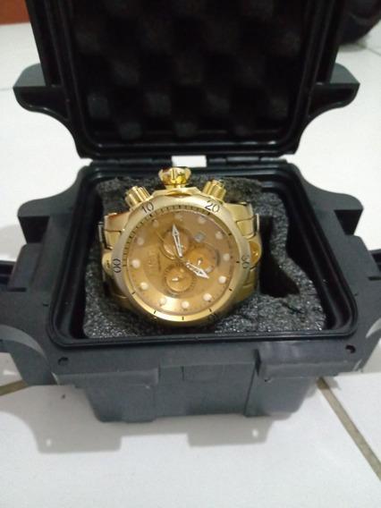 Relógio Invicta Reserve Original Caixa Grande Usado Muito Bo