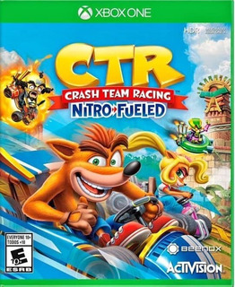 Crash Team Racing Nitro Fueled Para Xbox One Offline
