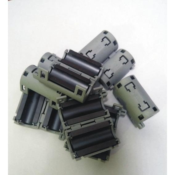 20 Peças Ferrite Supressor P/cabos - Lote C/ Pequenas Marcas
