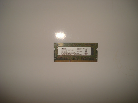 Memoria Ram Notebook 2gb Ddr3 Pc3 10600s 1333mhz 1.5v