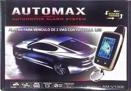 Alarma Automax Digital De 2 Vias Anti Escaner 1km Cuadrado