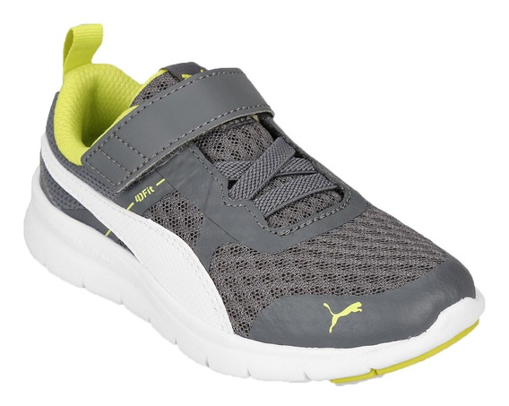 Puma Zapatillas Running Niño Flex Essential V Ps Gris - Vde