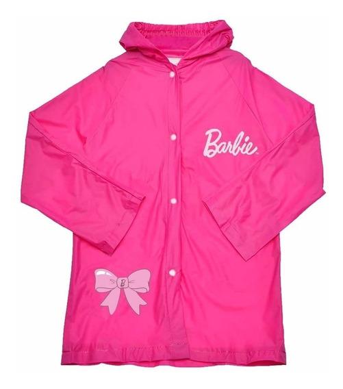 Capa De Chuva Infantil Barbie P,m,g- Original Brizi
