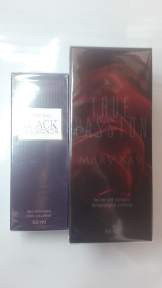 Perfume True Passion Feminino + Black Diamonds Mary Kay