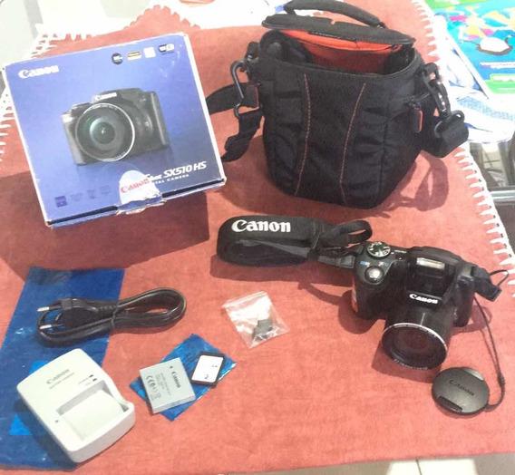 Câmera Cânon Powershort Sx510 Hs Wi-fi