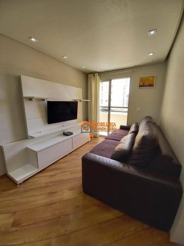 Apartamento Com 2 Dormitórios À Venda, 65 M² Por R$ 361.000,00 - Vila Galvão - Guarulhos/sp - Ap2805