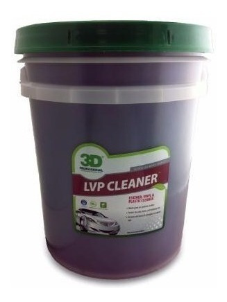 Imagen 1 de 3 de 3d Lvp Cleaner - Limpiador De Cueros - 20 Litros