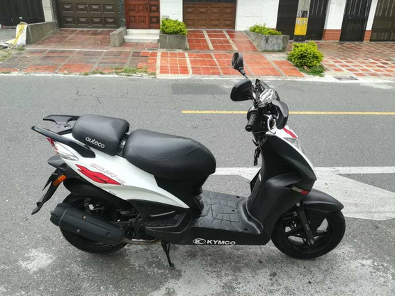 Agility Rs Naked Kymco 2016, Blanco