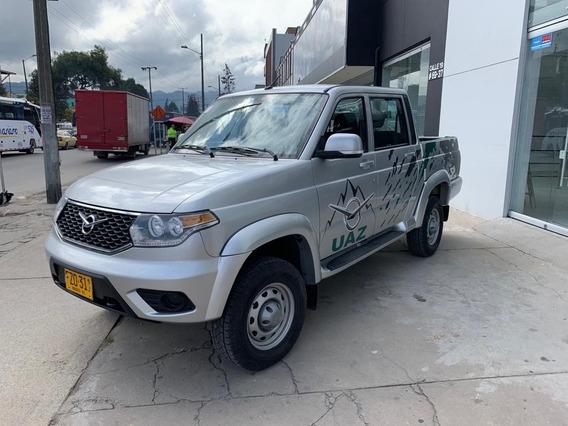Uaz Pick Up Optimum 4x4 2.700c.c. Gasolina Doble Y Bajo