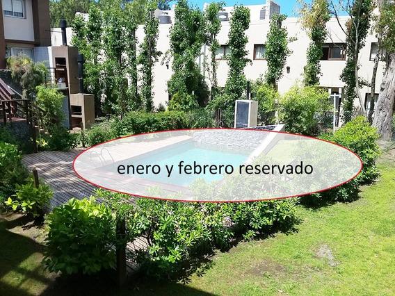 Alquilo Depto Pinamar Con Pileta Climatizada, Verano 2020