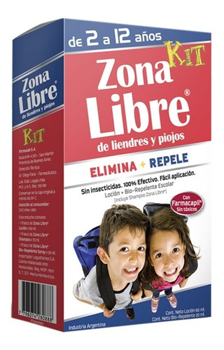 Zona Libre Kit X 1 Estuche. Directo De Fábrica.