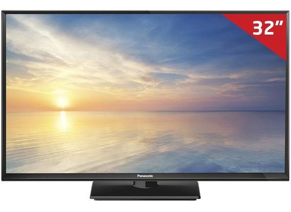 Tv Led 32 32f400b Panasonic, Hd Hdmi Usb Com Conversor Digi