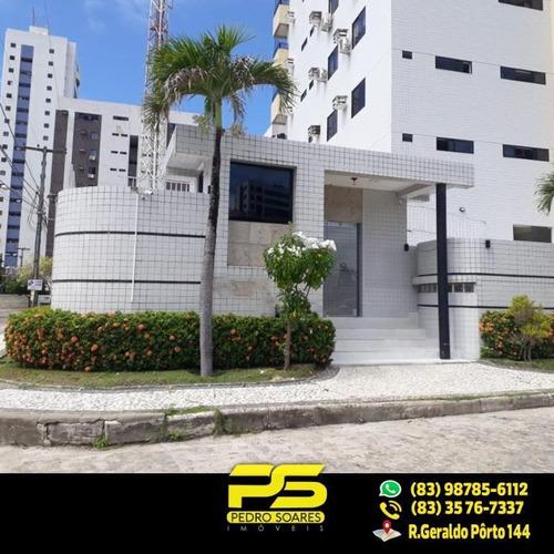 (oportunidade) Apartamento No Bessa Com 124,97m² E 3 Quartos Sendo 1 Suíte - Ap1997