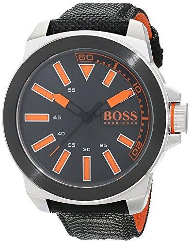 Boss Naranja Hombres S 1513116 Nuevo York Naranja - Reloj Ac