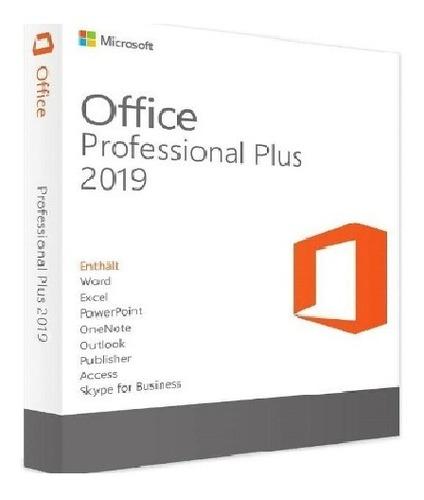 Office_2019 Pro Licencia Original Pro Plus Certificado