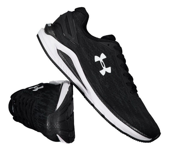 Tênis Under Armour Charged Carbon Preto Mescla