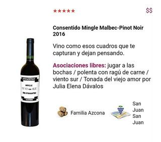 Consentido Dos Atorrantes Pinot Malbec X6