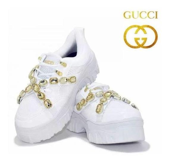 Tênis Gucci Pedraria