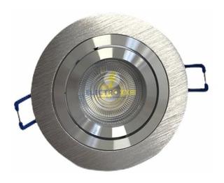 Spot Embutir Redondo Aluminio P/ Dicroica Led Gu10 Tbcin