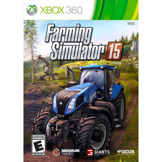 Farming Simulator 15 Xbox 360 Mídia Física Novo Lacrado