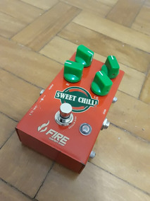 Pedal Fire Sweet Chilli Overdrive Sweetchilli