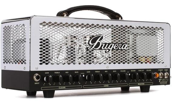 Bugera T50 Infinium Cabeçote Head De Guitarra Valvulado 50w