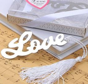 Marcador De Páginas De Livros Love De Metal