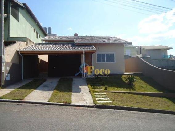 Casa Com 3 Dormitórios À Venda, 160 M² Por R$ 650.000,00 - Condomínio Itatiba Country Club - Itatiba/sp - Ca0168