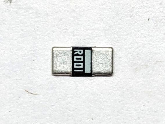 20pc Resistor 0.001 Ohm 1% 2w Smd 2512 R001 0r001 1moh Shunt