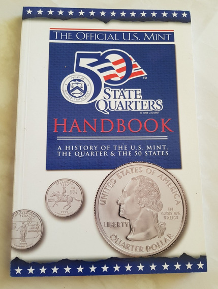 Livro Em Inglês Moedas 50 State Quarters Handbook