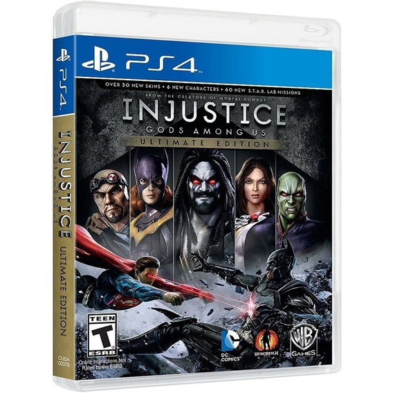 Injustice Ultimate Edition Ps4 Disco Fisico Original Lacrado