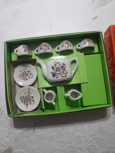Antiguo Jueguito De Te Origen Japón Porcelana Para Nena