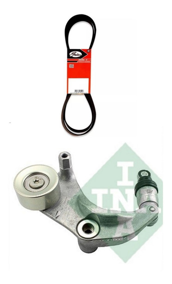 Kit Tensor Ina + Correia Alternador Gates Honda Civic 12/16