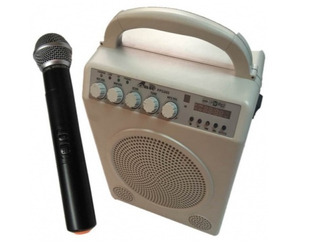 Gbr Ppg860 Bafle Portatil Mp3 Mic Inalambrico Bluetooth
