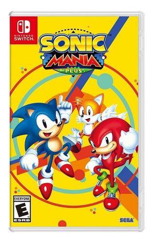 Sonic Mania Plus SEGA Nintendo Switch Físico