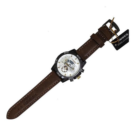 Kit C/ 3 Relógios Masculino Analógico Várias Cores Timweis