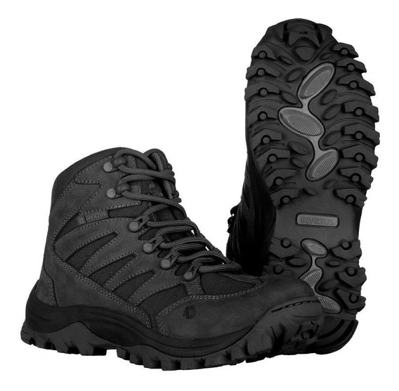Bota Tática Tractor Hiking Black - Invictus