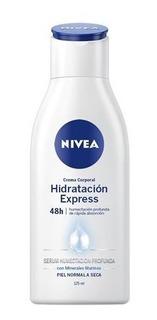 Nivea Hidratacion Express Crema Piel Normal A Seca X 125ml