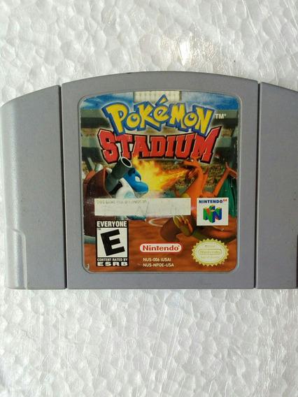 Pokemon Stadium Usada Original Nintendo 64