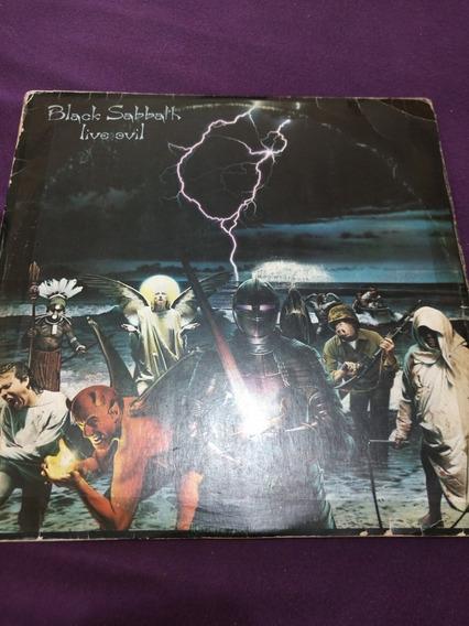 Black Sabbath Live Evil Lp Duplo