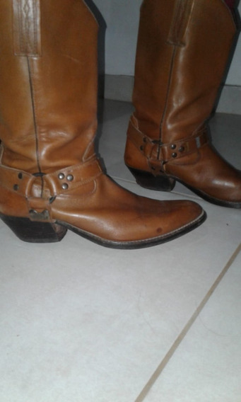 Botas Marrones En Perfecto Estado.
