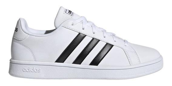 Zapatillas adidas Grand Court Base W Blanco/negro Moda Mujer
