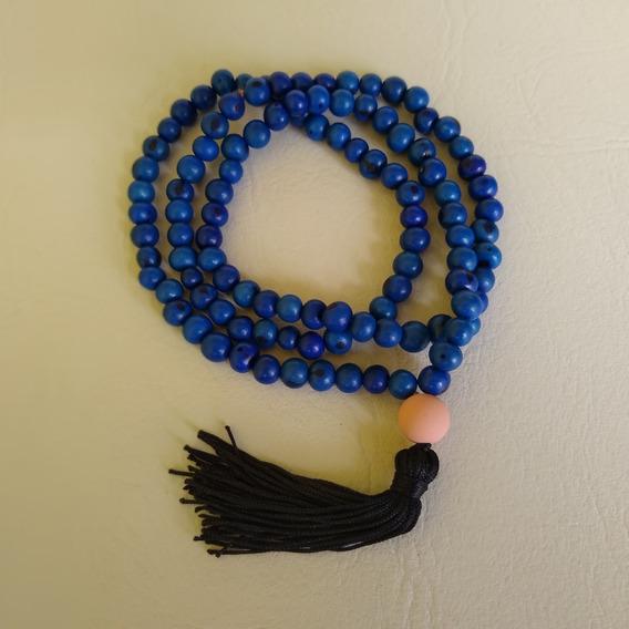 Japamala Feito Com Semente De Açaí Azul