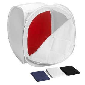 Tenda Difusora 40cm X 40cm 40 X 40 Mini Estúdio Fotografico