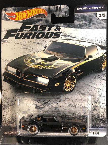 Hot Wheels 77 Pontiac Firebird Fast & Furious Real Riders